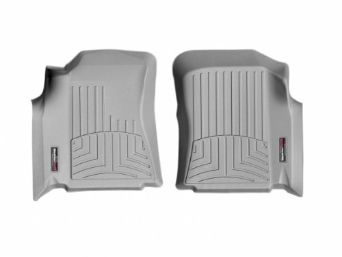 WeatherTech - 460011 - 2000 - 2004 Toyota Tundra Grey 1st Row FloorLiner