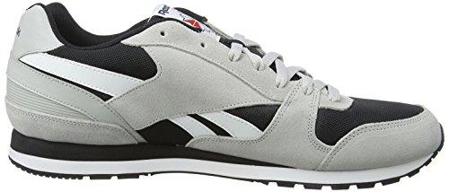 Reebok Gl 3000, Zapatillas Deportivas para Interior para Hombre Gris (skull Grey/black/blue Ink/riot Red/white)