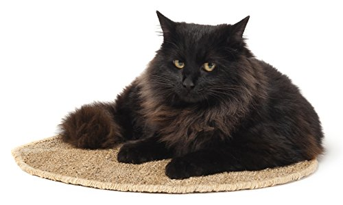 KittiKlaw - All-Natural 100% Handmade Hemp Resting Pad Mat for Cat or (Resting Mat)