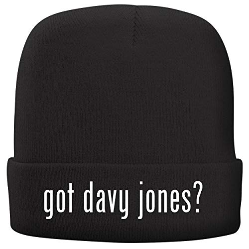 BH Cool Designs got Davy Jones? - Adult Comfortable Fleece Lined Beanie, Black Davy Jones Adult Mask