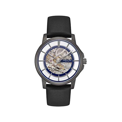 Kenneth Cole New York Male Quartz Watch (Cole Skeleton Kenneth Watches)