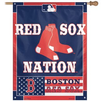MLB Boston Red Sox 27-by-37-Inch Vertical Nation