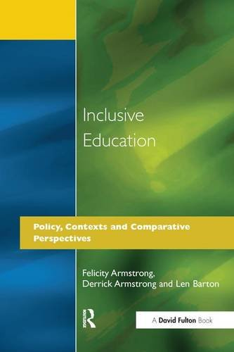 Inclusive Education: Policy, Contexts and Comparative Perspectives