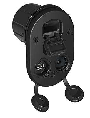Tallon Elite Socket Mount, USB, 12V, RAM Ball Adaptors