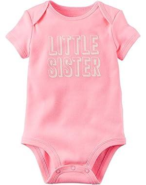 Baby Girls' Little Sister Bodysuit