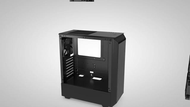 Phanteks Eclipse (PH-EC300PTG_BK) Steel ATX Mid Tower Tempered Glass Case, Black