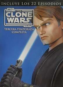 Star Wars: The Clone Wars - Temporada 3 Completa [DVD]