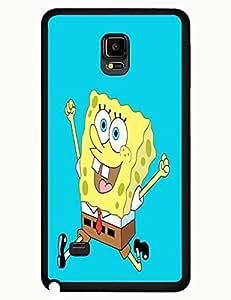 Cool SpongeBob Cartoon Design Slim Phone Case Shell for Samsung Galaxy Note 4