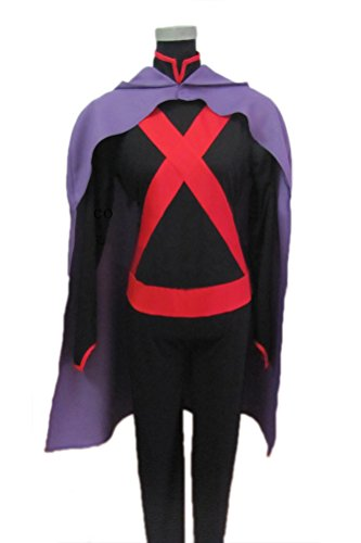 Miss Martian Costume Deluxe Cape Shirt Outfits Megan Morse Cosplay Accessory M (Martian Manhunter Costume)