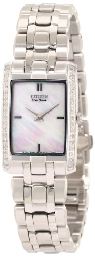 Stiletto Diamond Watch - Citizen Women's Eco-Drive Stiletto Diamond Accented Watch, EG3170-54D