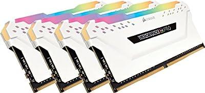 Corsair Vengeance RGB 16GB (2x8GB) DDR4 2666MHz C16 Desktop Memory - Black