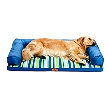 STAZSX Perrera Lavable Golden Retriever Dog Mat Medium Large Dog Labrador Summer Dog Cama para Perros Summer Pet Supplies, 70X50CM: Amazon.es: Productos ...