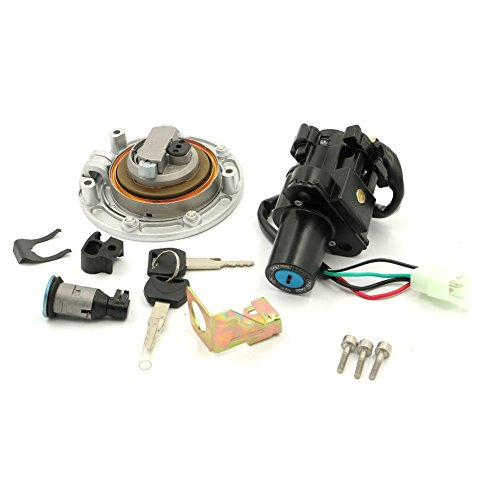 Ignition Switch Lock+Fuel Gas Cap Key Set For Honda VFR800 CBR600RR CBR929RR CBR1100XX