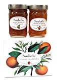 Sarabeth's Two Jar Gift Box Set - Two 9 oz. jars - Peach Apricot & Orange Apricot Marmalade