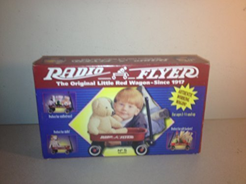Radio Flyer Little Red Wagon 12-1/4 In. X 7-1/8 In. X 1-7/8 In. Ages 2 Steel