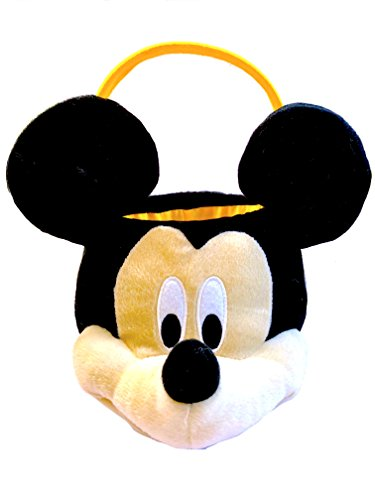 NEW Mickey Mouse Easter Plush Basket Perfect for Easter Egg Hunts and Activities