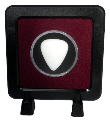 Guitar Pick Display Frame with Stands - Burgundy/Black 351 - MADE IN USA ()