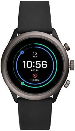 Fossil - Reloj Inteligente Deportivo de Metal y Silicona con Pantalla táctil para Hombre, con frecuencia cardíaca, GPS, NFC y notificaciones para Smartphone