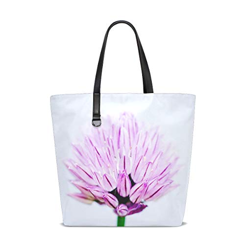 Tote Bag Handbag Double-sided Use For Gym Shopping Hiking Picnic Travel Beach Wallpaper Bloom ()