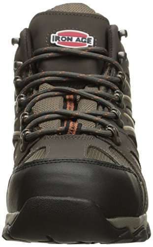 Iron Age Mens Ia5200 Surveyor Industrial and Construction Shoe Brown/Tan Trim RB2rvZwE