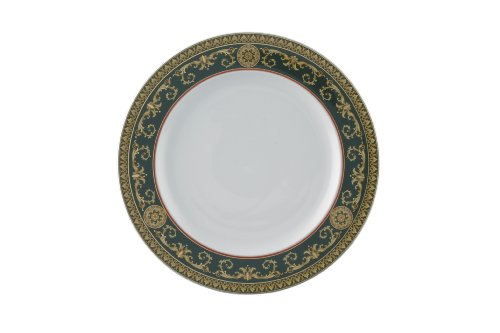 Versace by Rosenthal Medusa Red 10 1/2-Inch Dinner Plate