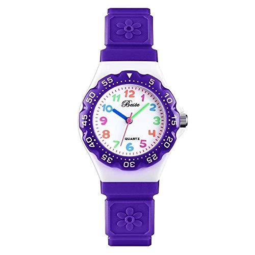 VITREND ™ Better Flower Design Dial and Strap Analog Watch   for Girls  Random Colours Will be Sent