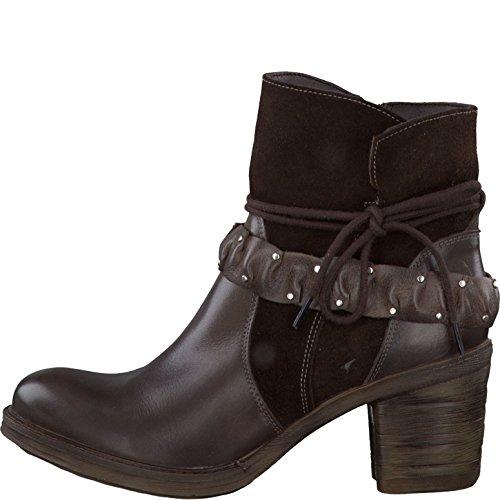 Tamaris1-25428-25-332 - Cerrado Mujer marrón oscuro