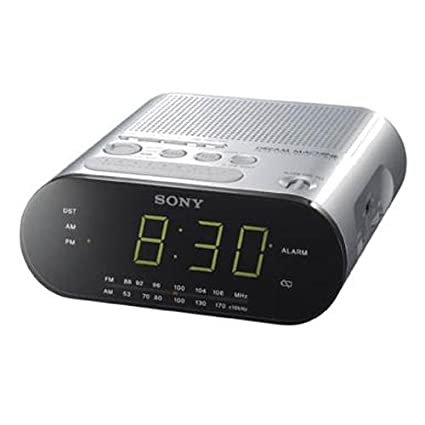 fd218bdc45a Image Unavailable. Image not available for. Color  Sony ICF-C218 - Clock  radio