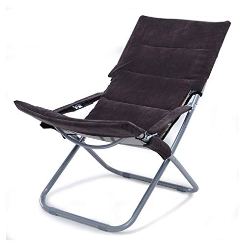 SACKDERTY Foldable Lounger Garden Relaxer Deck Chair with Removable Cloth Cover Zero Gravity Sun Lounger for Home Patio Holiday Beach