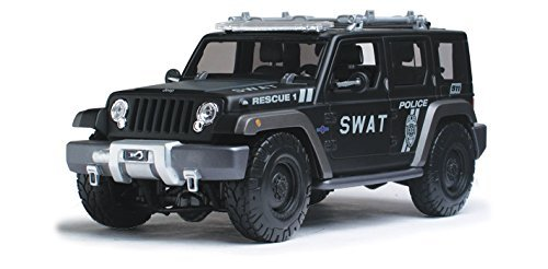 (Jeep Rescue Concept Police SWAT Version 1/18 by Maisto 36211 by Maisto)