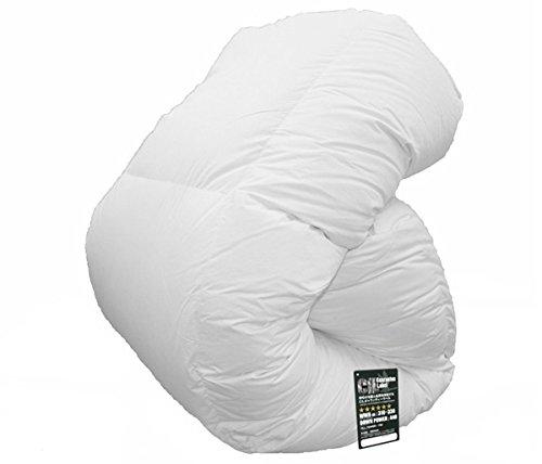 大増量タイプ ハンガリー産 ホワイトマザーグースダウン 95% ツインキルト 羽毛布団 日本製 (セミダブル) B00FS4UIKA セミダブル セミダブル