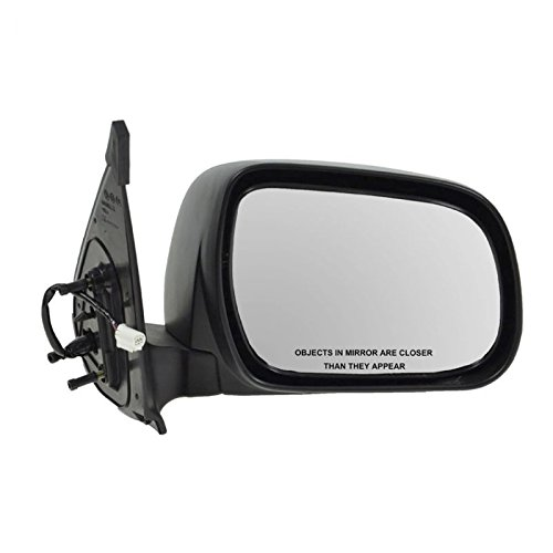 Power Textured Folding Mirror Passenger Right for Toyota Tacoma Pickup Truck AM Autoparts