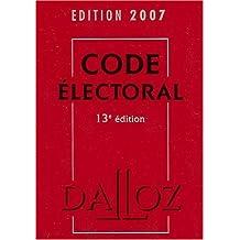 CODE ELECTORAL 2007