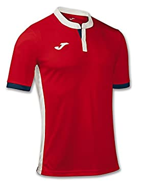 Joma Tennis 80 Camiseta de Manga Corta, Hombre, Rojo, S: Amazon.es: Deportes y aire libre