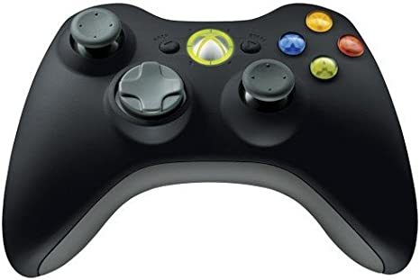 Microsoft Xbox 360 Wireless Controller, f/Windows Gamepad PC Negro ...
