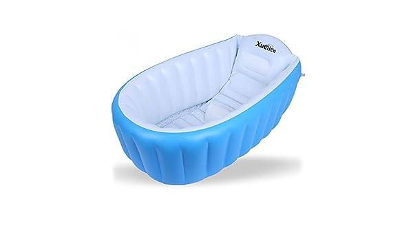 Xueliee - Bañera hinchable para bebé, portátil, mini piscina de ...