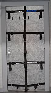 Bodylastics ULTRAANCHOR Narrow Version (for doors 26 inches and wider) multi-site door anchor attachment system with super strong nylon webbing and heavy gauge D-Rings