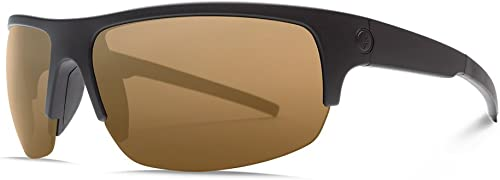 Electric Visual Tech One Pro Matte Black OHM Polarized Bronze Sunglasses