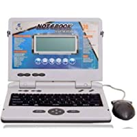OBLETTER TRADE Kids Laptop & Tablets Notebook Computer 22 Activities & Games Including Mouse for 3 to 8 Year Old Kids