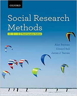 Social Research Methods Canadian Edition Amazon Com Br