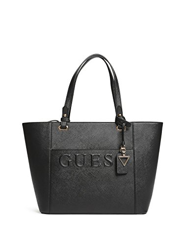 GUESS Factory Women's Laken Embossed Logo Tote
