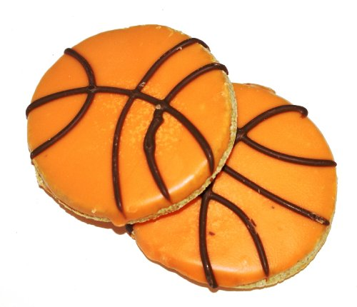[Pawsitively Gourmet Basketball Cookies for Dogs] (Holiday Dog Cookies)