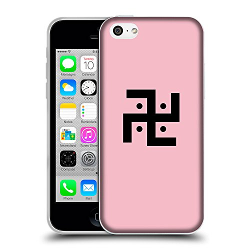 GoGoMobile Coque de Protection TPU Silicone Case pour // Q08370630 Religion 1 Rose // Apple iPhone 5C