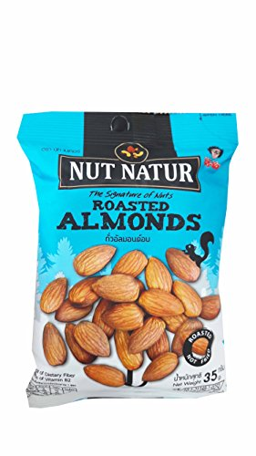 Loccitane Almond Delicious Paste (4 packs of Roasted Almonds. The Signature of Nuts, Roasted not Fried by koh kae. (35 g/)