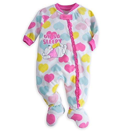 Disney Store Winnie The Pooh Little Girl Footed Blanket Sleeper Pajama ()