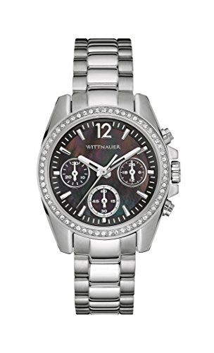 - Wittnauer Wn4040 Women's Chronograph Stainless Steel Bracelet Watch