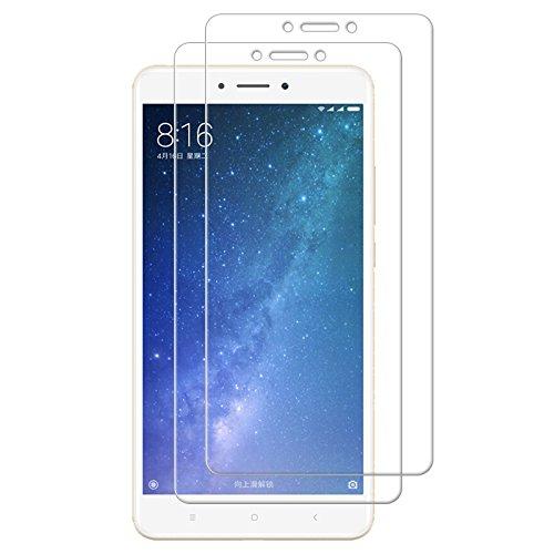 - Xiaomi Mi Max 2 Screen Protector, TopACE Premium Quality Tempered Glass 0.3mm Film for Xiaomi Mi Max 2 (2 Pack)