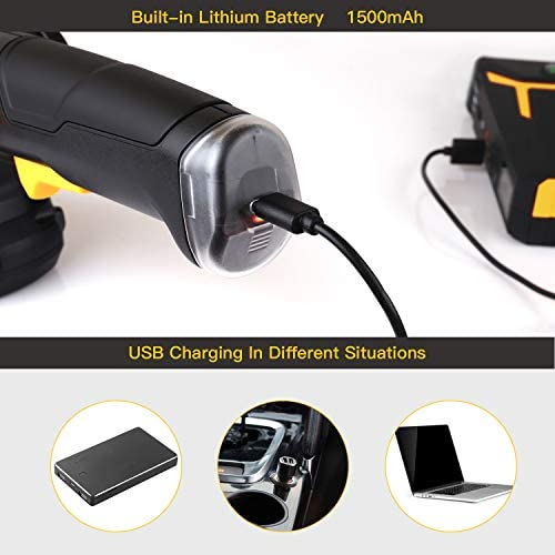 Amazon.com: TECCPO - Aspirador eléctrico con cable de 12 ...
