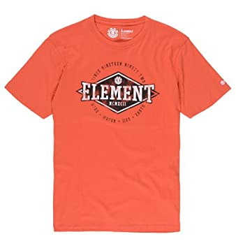 887e52d23e Element Crossover Men s T-Shirt Short-Sleeved cayenne Size L  Amazon ...
