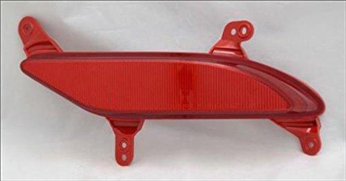Partslink HY1185109 Multiple Manufacturers OE Replacement Bumper Reflector Hyundai Santa FE Sport 2013-2016 HY1185109N